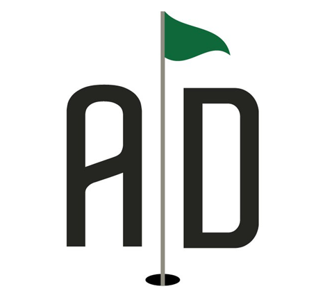 Alex Dunlop Golf Logo Design