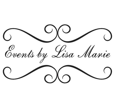 Events by Lisa Marie Logo Redesign